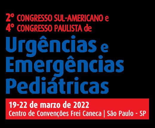 2º Congreso Sudamericano y 4º Congreso de Urgencias y Emergencias Pediátricas de São Paulo